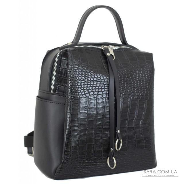 Купити 660 рюкзак крокодил чорний Lucherino дешево. Україна