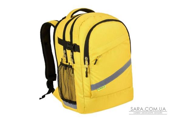 Рюкзак шкільний College жовтий Surikat