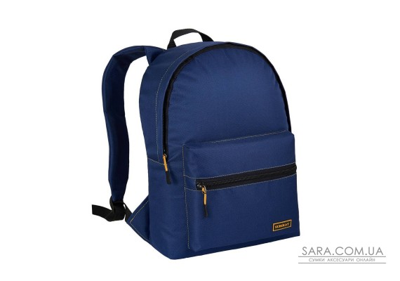 Рюкзак міський City EKO темно-синій (жовта рядок) Surikat