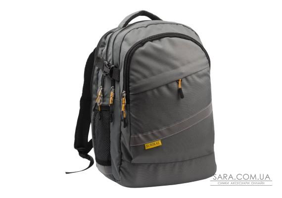 Рюкзак шкільний College сірий Surikat