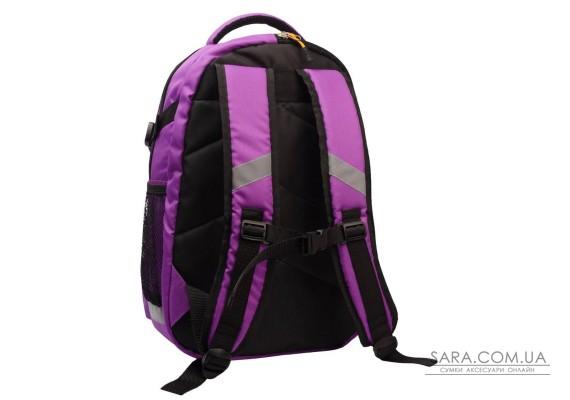 Рюкзак шкільний College бузковий Surikat