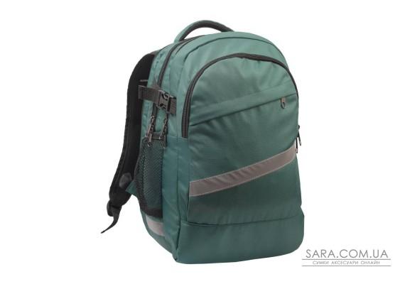 Рюкзак шкільний College зелений Surikat