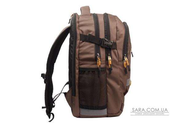 Рюкзак шкільний College коричневий Surikat