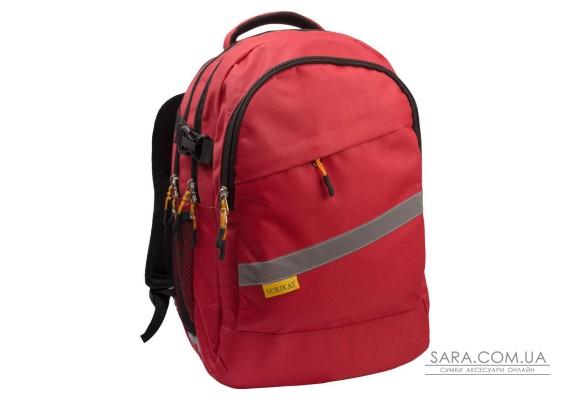 Рюкзак шкільний College червоний Surikat