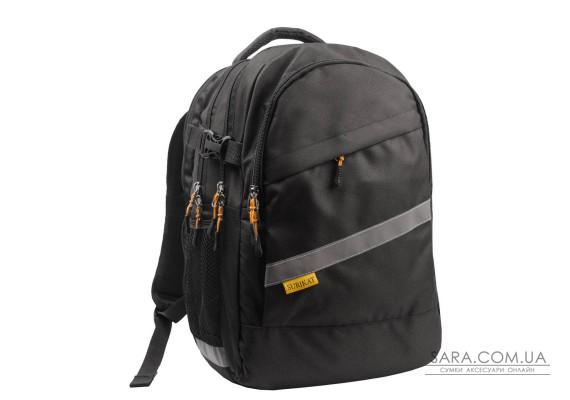 Рюкзак шкільний College чорний Surikat