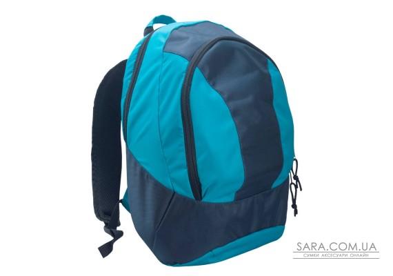 Рюкзак міський Spring темно синій з блакитним Surikat