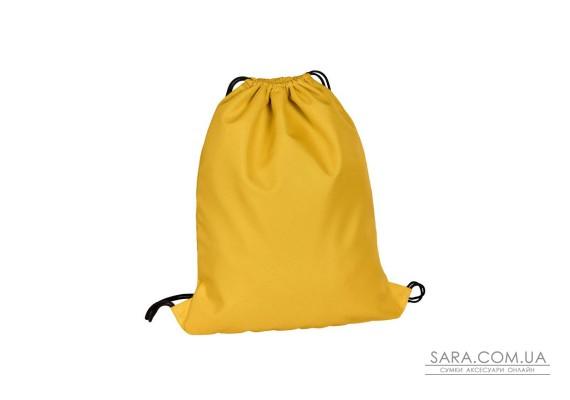 Багатофункціональний рюкзак-мішок жовтий Surikat