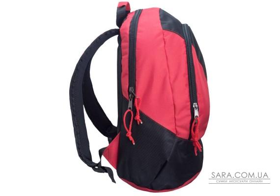Рюкзак міський Spring чорний з червоним Surikat