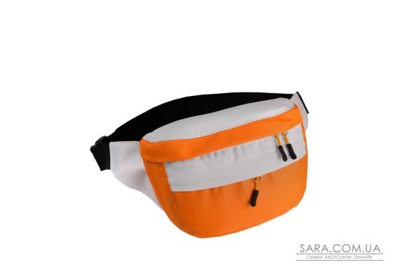 Поясна сумка Surikat Tornado помаранчевий-білий Surikat
