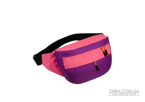 Поясна сумка Surikat Tornado бузковий-рожевий Surikat
