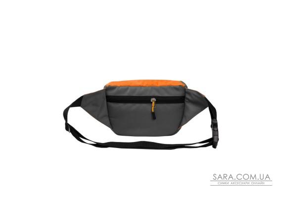 Поясна сумка Surikat Tornado сірий-помаранчевий Surikat