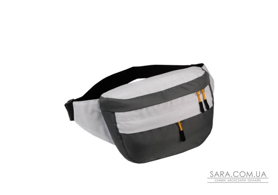 Поясна сумка Surikat Tornado сірий-білий Surikat