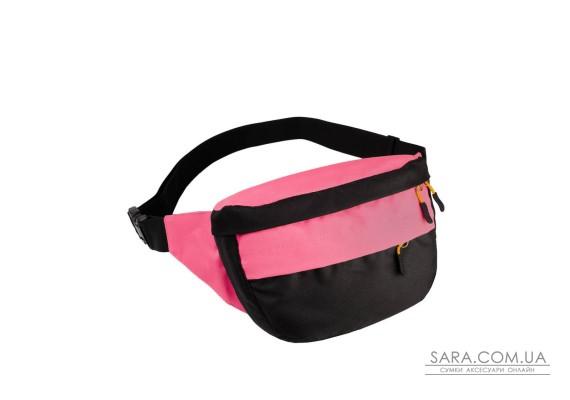 Поясна сумка Surikat Tornado чорний-рожевий Surikat