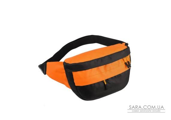 Поясна сумка Surikat Tornado чорний-помаранчевий Surikat