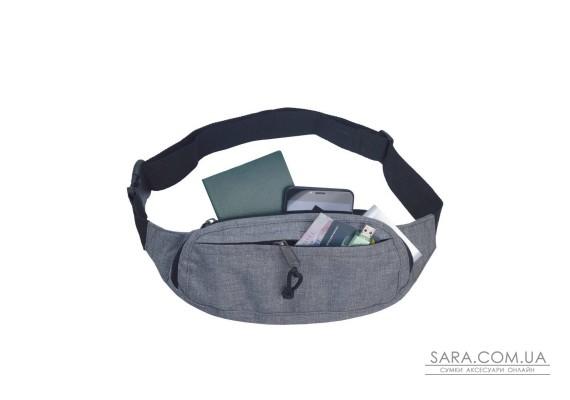 Поясна сумка Surikat Primo сірий меланж Surikat