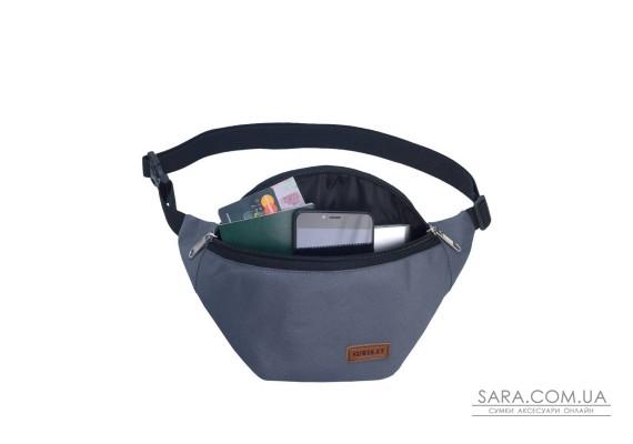 Поясна сумка Surikat Tempo сірий Surikat