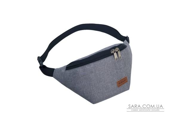 Поясна сумка Surikat Tempo сірий меланж Surikat