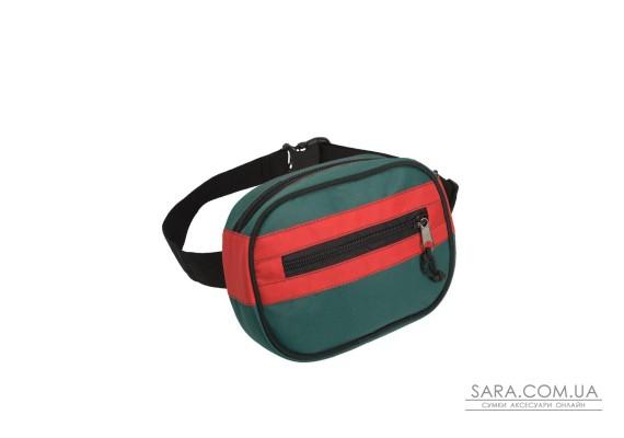 Поясна сумка Surikat Kokos зелено-червоний Surikat