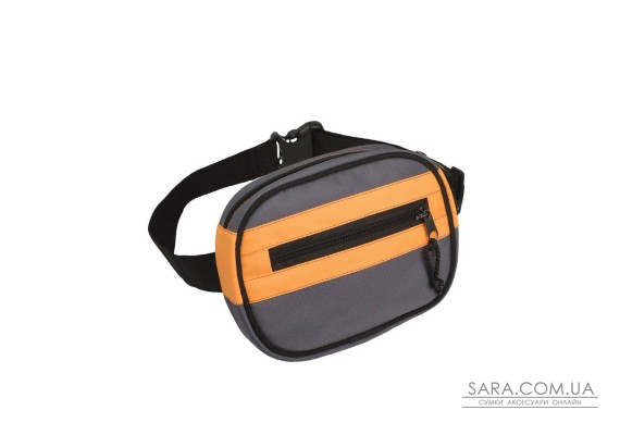Поясна сумка Surikat Kokos сіро-помаранчевий Surikat
