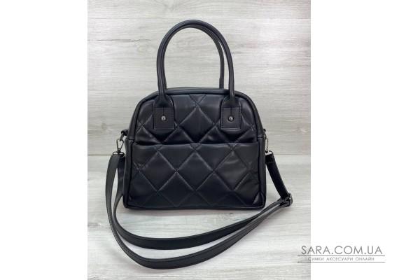Женская сумка «Нэнси» черная  WeLassie