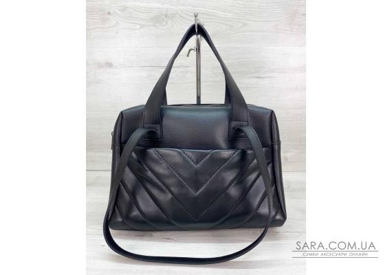 Женская сумка «Грейс» черная WeLassie