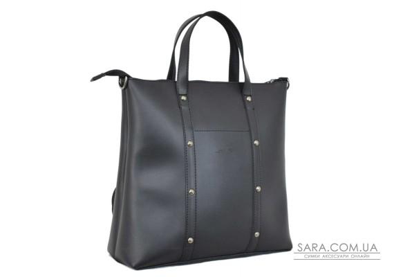 667 сумка-рюкзак чорна Lucherino