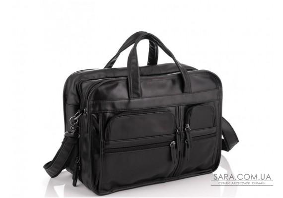 Большая деловая мужская кожаная сумка Jasper&Maine 7093A