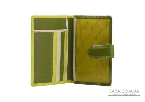 Обкладинка для паспорта Visconti RB75 Sumba (Lime Multi)