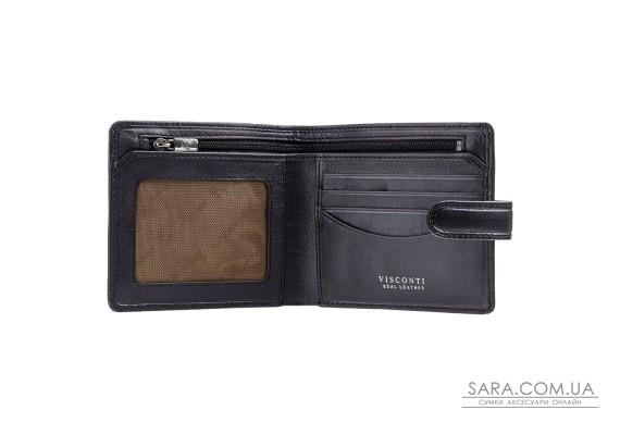Кошелек мужской Visconti TSC41 Massa c RFID (Black)
