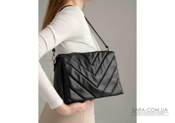 Женская сумка «Сара» черная WeLassie