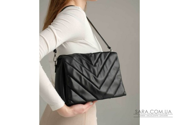 Жіноча сумка «Сара» чорна WeLassie