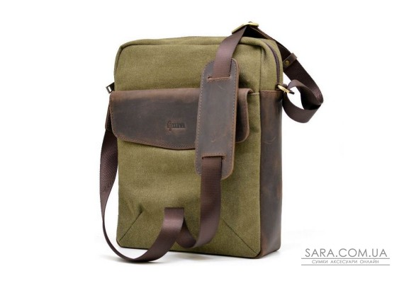 Мужская сумка, микс парусина+кожа RH-1810-4lx бренда TARWA