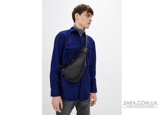 Компактний шкіряний рюкзак на одне плече RA-3026-3md TARWA
