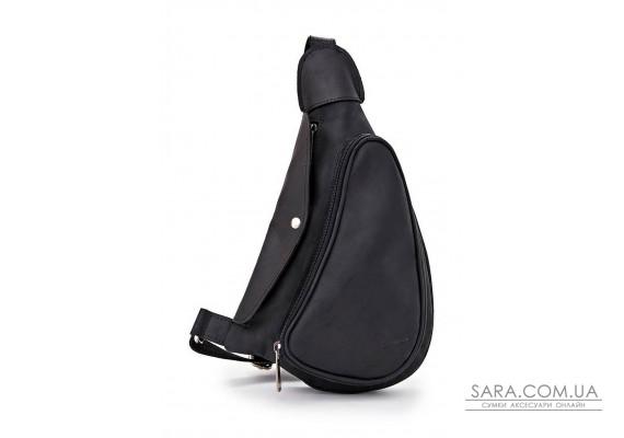 Компактный кожаный рюкзак на одно плечо RA-3026-3md TARWA