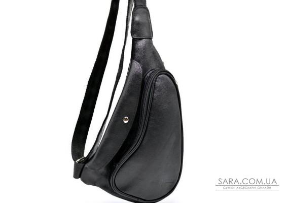 Практичний рюкзак на одне плече з телячої шкіри GA-3026-3md бренд Tarwa
