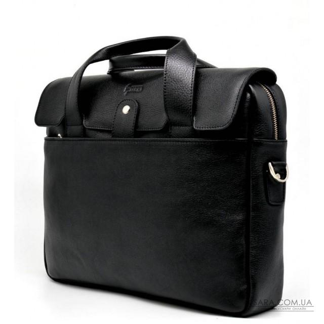 Шкіряна сумка-портфель для ноутбука TA-1812-4lx від TARWA