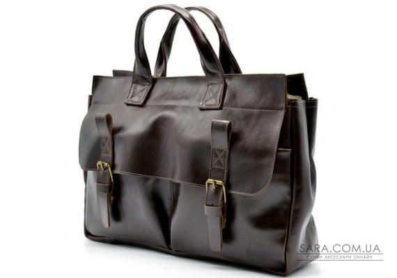 Чоловіча шкіряна сумка для документів GX-7107-3md TARWA