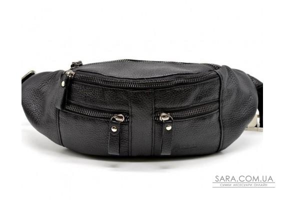 Мужская кожаная сумка на пояс FA-3088-3md TARWA