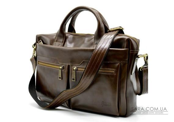 Кожаная мужская сумка для ноутбука GQ-7122-3md TARWA
