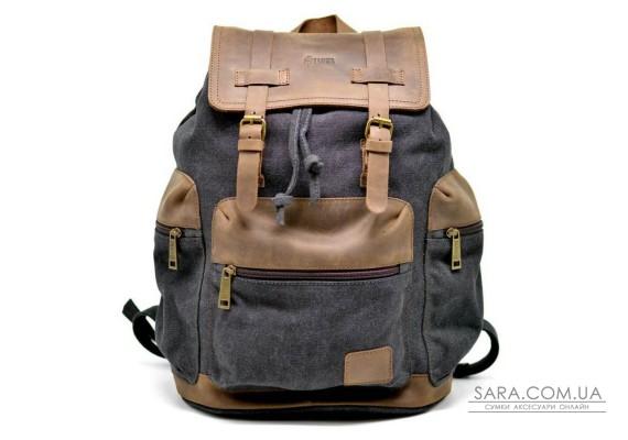 TARWA RG-0010-4lx - городской рюкзак из лошадиной кожи и парусины