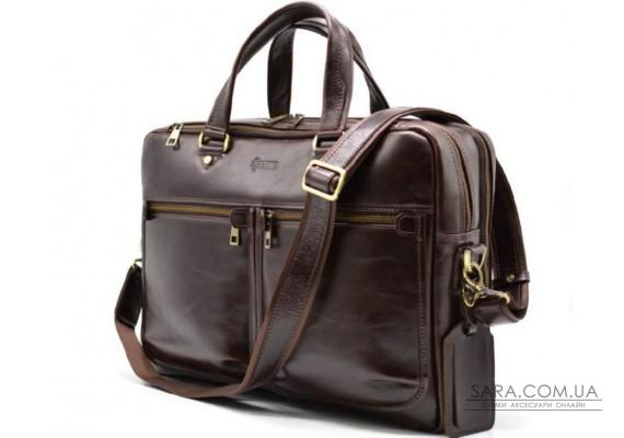 Чоловіча шкіряна сумка для ноутбука і документів TX-4664-4lx TARWA