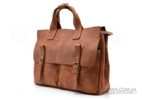 Чоловіча сумка для ноутбука і документів TARWA RB-7107-3md, crazy horse