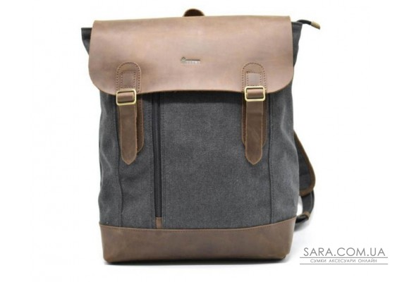 Рюкзак міський, парусина + шкіра RG-3880-3md від бренду TARWA