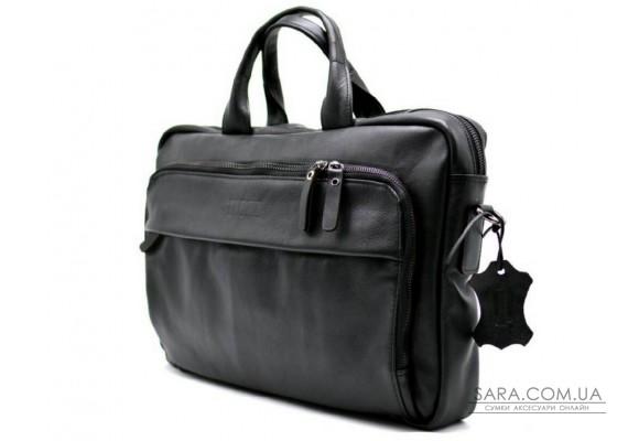 Ділова сумка-портфель для ноутбука GA-7334-1md TARWA, з натуральної шкіри