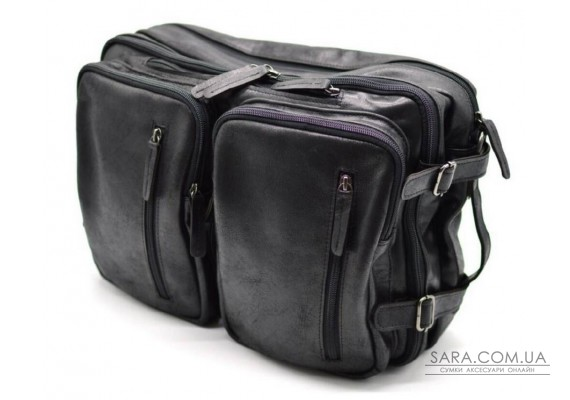 Чоловіча шкіряна сумка-рюкзак GA-7014-3md TARWA