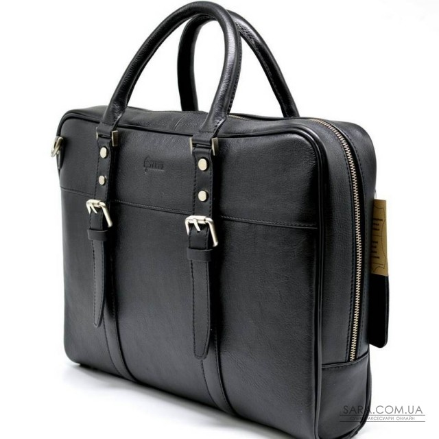 Ділова сумка з ручками TA-4764-4lx TARWA, з натуральної телячої шкіри