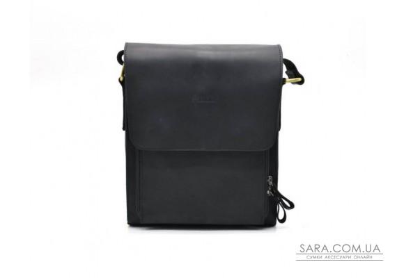 Мужская сумка через плечо TARWA RA-3027-3md, из натуральной кожи crazy horse