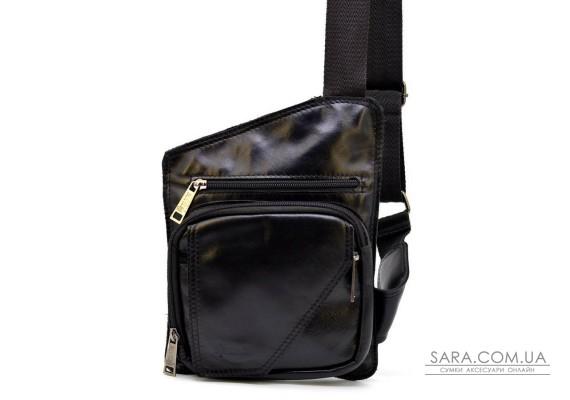 Кожаная мужская сумка через плечо небольшого размера TARWA, GA-232-3md
