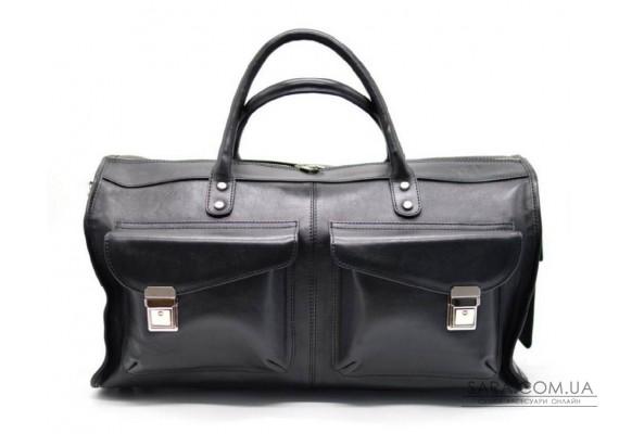 Дорожня сумка TARWA TA-5664-4lx, з натуральної телячої шкіри