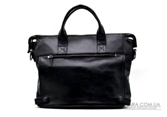 Чоловіча шкіряна сумка з відділенням для ноутбука і клапаном GA-7120-1md TARWA
